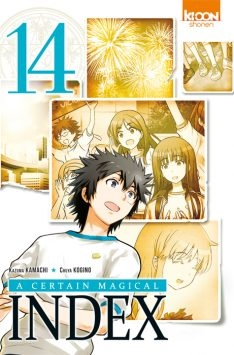 Couverture A certain magical index, tome 14