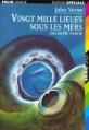 Couverture 20 000 lieues sous les mers / Vingt mille lieues sous les mers, tome 2 Editions Folio  (Junior - Edition spéciale) 1994