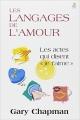 """Couverture Les langages de l'amour : Les actes qui disent """"je t'aime"""" Editions Leduc.s 2015"""