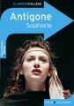 Couverture Antigone Editions Belin / Gallimard (Classico - Collège) 2012