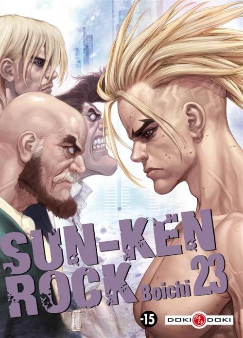 Couverture Sun-Ken Rock, tome 23