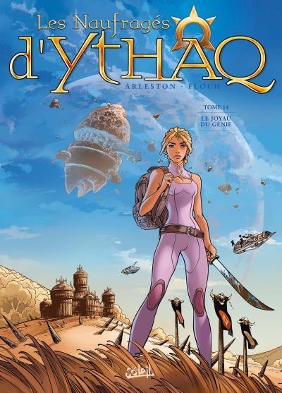 Couverture Les Naufragés d'Ythaq, tome 14 : Le Joyau du Génie