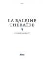 Couverture La baleine thébaïde Editions Alma 2017
