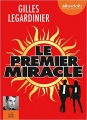 Couverture Le premier miracle Editions Audiolib 2016