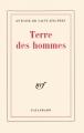 Couverture Terre des hommes Editions Gallimard  (Blanche) 1939