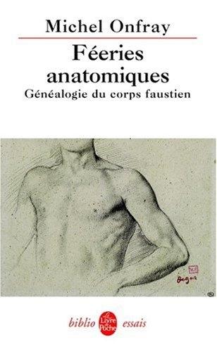 Couverture Féeries anatomiques