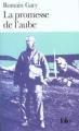 Couverture La Promesse de l'aube Editions Folio  2013