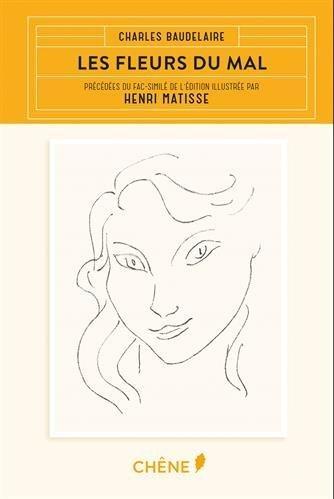 Couverture Les Fleurs du Mal illustrées par Matisse