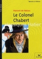 Couverture Le colonel Chabert Editions Hatier 2002