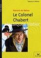 Couverture Le colonel Chabert Editions Hatier 2002