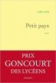 Couverture Petit pays Editions Grasset & Fasquelle 2016