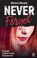 Couverture Never forget, tome 1 Editions Harlequin (&H) 2017