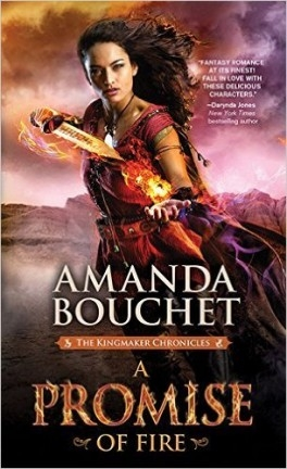 Couverture The Kingmaker Chronicles, book 1: A Promise of Fire