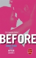 Couverture After, tome 6 : Before, partie 1 Editions Le Livre de Poche 2017