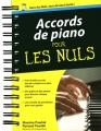 Couverture Accords de piano pour les nuls Editions First 2012