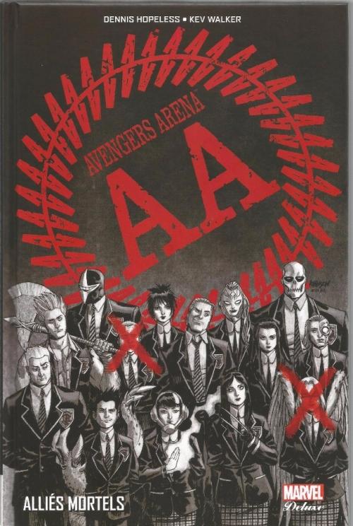 Couverture Avengers Arena, tome 1 : Alliés Mortels