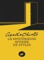 Couverture La Mystérieuse Affaire de Styles Editions du Masque 2013