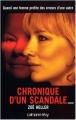 Couverture Chronique d'un scandale Editions Calmann-Lévy 2005