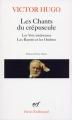 Couverture Les Chants du crépuscule, Les Voix intérieures, Les Rayons et les Ombres Editions Gallimard  (Poésie) 1970