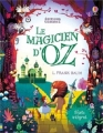 Couverture Le magicien d'Oz Editions Usborne 2016