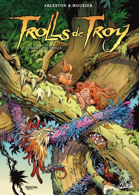 Couverture Trolls de Troy, tome 22 : A l'école des trolls
