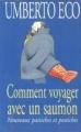 Couverture Comment voyager avec un saumon Editions Grasset 1997