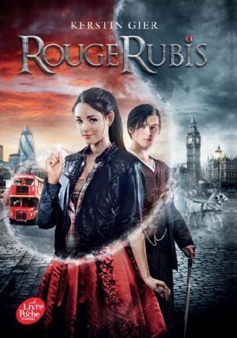 Couverture Trilogie des gemmes, tome 1 : Rouge rubis