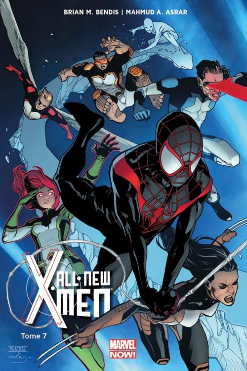 Couverture All-New X-Men (Marvel Now), tome 7 : L'Aventure Ultime