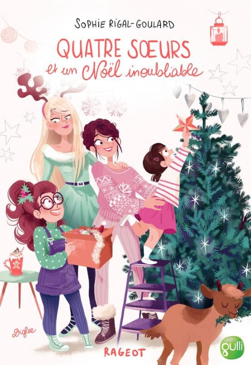 Couverture Quatre soeurs et un Noël inoubliable