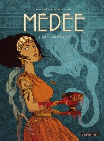 Couverture Médée, tome 3 : L'épouse barbare