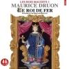 Couverture Les rois maudits, tome 1 : Le roi de fer Editions Sixtrid 2015