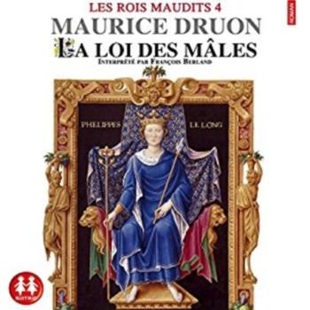 Couverture Les rois maudits, tome 4 : La loi des mâles