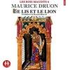 Couverture Les rois maudits, tome 6 : Le lis et le lion Editions Sixtrid 2015