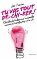Couverture Tu vas tout dé-chi-rer ! Editions Marabout 2016
