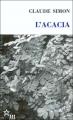 Couverture L'Acacia Editions de Minuit 2013