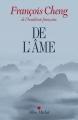 Couverture De l'âme Editions Albin Michel 2016