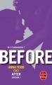 Couverture After, tome 7 : Before, partie 2 Editions Le Livre de Poche 2017