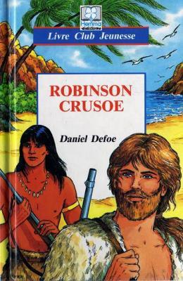 Couverture Robinson Crusoé, abrégé