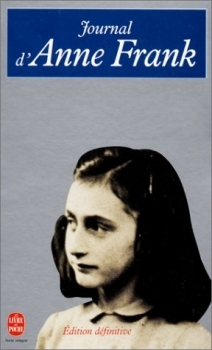 Couverture Le journal d'Anne Frank