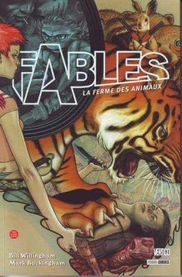 Couverture Fables, tome 02 : La ferme des animaux