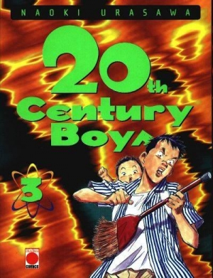 Couverture 20th Century Boys, tome 03