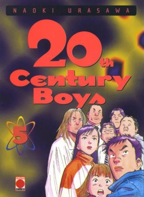 Couverture 20th Century Boys, tome 05