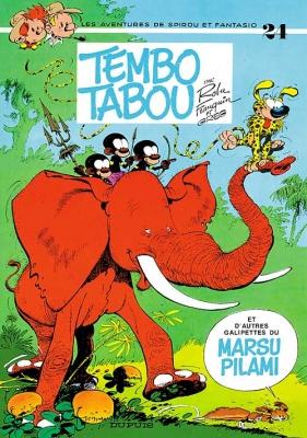 Couverture Spirou et Fantasio, tome 24 : Tembo Tabou