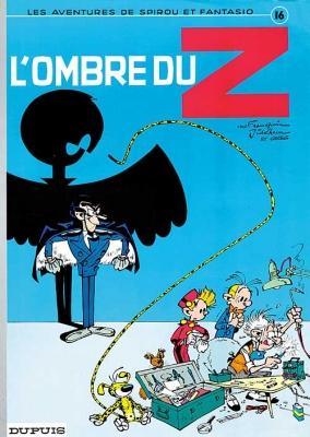 Couverture Spirou et Fantasio, tome 16 : L'Ombre du Z
