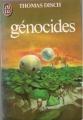 Couverture Génocides Editions J'ai Lu 1983
