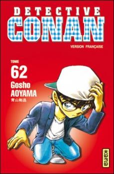 Couverture Détective Conan, tome 62