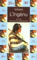 Couverture L'Ingénu suivi de L'homme aux quarante écus Editions Librio 1997