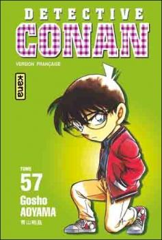 Couverture Détective Conan, tome 57