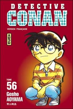 Couverture Détective Conan, tome 56