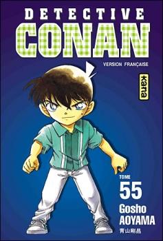 Couverture Détective Conan, tome 55